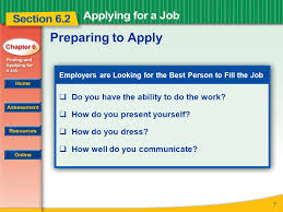 How Do You Do A Job Resume by Read To Learn How To Prepare For And Complete A Job Application