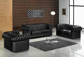 Black Leather Living Room Chair Design Ideas Living Room Black Leather Living Room Furniture Inside