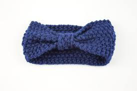 crochet band knitted knotted baby crochet wrap warmer bow accessories 10