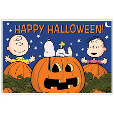 Halloween Banner Clipart by The Great Pumpkin Charlie Brown Snoopy Halloween Decoration Banner