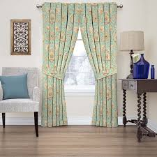 Discount Waverly Curtains Waverly Clifton Hall Floral Window Curtain Walmart Com