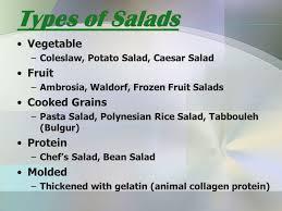 salads u0026 dressings definitions salad u2013combination of raw or