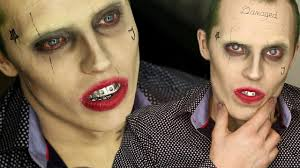 Jokers Halloween Joker Squad Make Up Transformation Halloween Tutorials