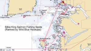 Sitka Alaska Map by M V Wild Blue Cruising Blog 26 Sitka Fishing Willie Lands A