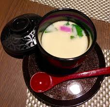 chawan mushi is a steamed egg custard and the most popular