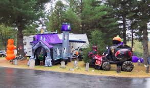 Camping Decorations Columbus Day Weekend Halloween Extravaganza Mountain Lake Camping