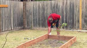 how to build a garden bed bunnings warehouse