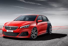 peugeot 308 gti peugeot 308 r concept previews french golf gti and focus st rival