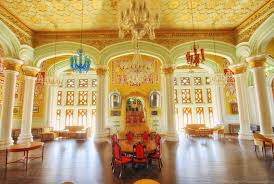 Palace Interior by The Grand Bangalore Palace Digitalkaleidoscope