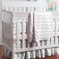 Pink Chevron Crib Bedding Pink And Gray Chevron Mini Crib Bedding Carousel Designs