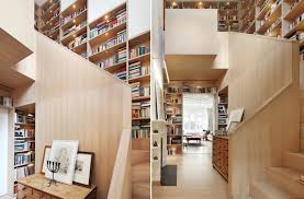 Swinging Bookcase Designs That Prove Staircases And Bookshelves Make A Great Duo