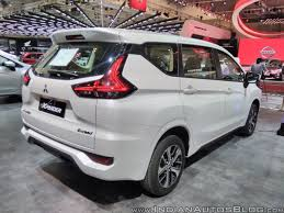 mitsubishi expander ultimate mitsubishi xpander bookings now at 7 500 units in indonesia