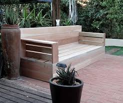 make your own wood patio furniture 5 steps with pictures