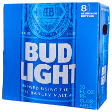 Bud Light Aluminum Bottle Bud Light Aluminum 16 Oz Btls