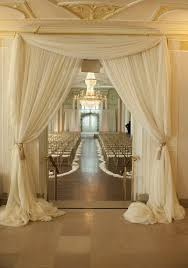 wedding drapes frame the entrance to your wedding ceremony or party with yards