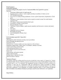 Sample Resume Photo by Sample Resume Format For Experienced 2 Career Pinterest