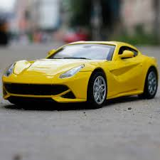 f12 model f12 simulation exquisite 1 32 sport car model acousto optic doors