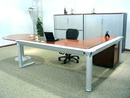 Glass Office Desk Glass Office Desk Modern Stainless Steel Clear Glass Conference