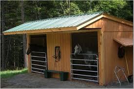 10 Stall Horse Barn Plans Maverick Style Stall Building Frame 772 Klene Pipe Structures