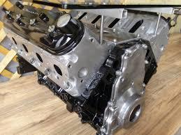 chevy chevrolet ls engine block table garage car part
