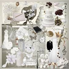 scrapbook for wedding digital scrapbook kit wedding day digital