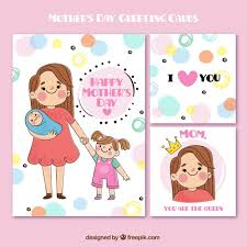 cards for s day s day greeting cards in style vector free