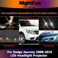 Dodge Journey 2015 - nighteye dodge journey headlights 2008 2015 new jcuv led headlight