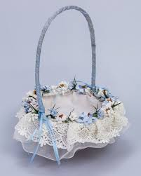 corbeille mariage corbeille mariage fleurs bleues