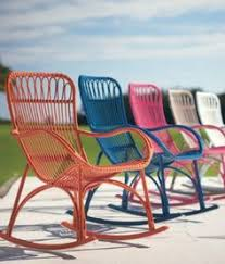 Rocking Patio Chair Pink Outdoor Chairs Home Decor Pinterest Pink Chairs