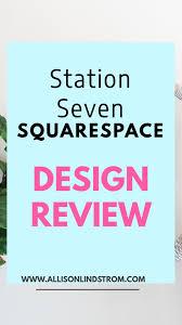 squarespace design kit review station seven pre made design
