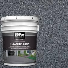 interior floor paint behr premium 5 gal gg 05 azul diamond decorative concrete floor
