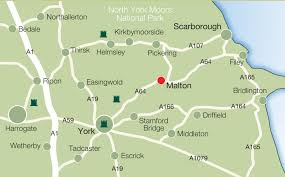 map of areas and surrounding areas contact ryedale indoor bowls club