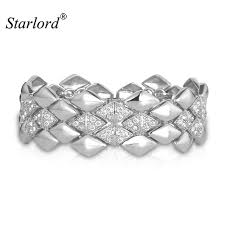 rhinestone bands starlord trendy bracelets bangles women men jewelry fashion