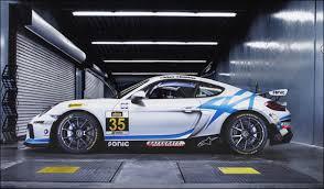 porsche cayman racing cj wilson racing adds second gs class porsche cayman gt4 clubsport