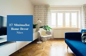 27 websites to find minimalist home décor the