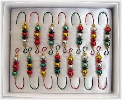 make your own ornament hooks dress them up with ribbon