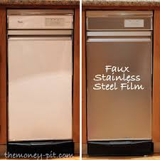 can you paint kitchen appliances turning white appliances into stainless steel for 25 the kim