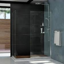 fixed shower doors showers the home depot linea 30 in x 72 in and 30 in x 72