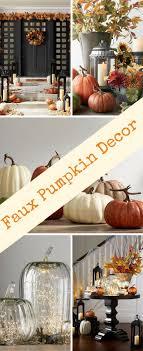 best 25 faux pumpkins ideas on harvest decorations