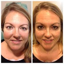 permanent makeup before and after pictures
