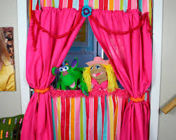 How To Make A Stage Curtain Puppet Theatre Curtain