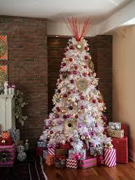 big white christmas tree christmas lights decoration