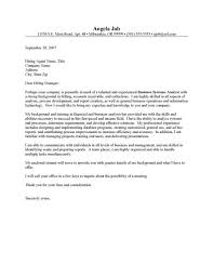 data quality analyst cover letter
