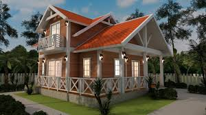 2 stories house 2 story house plan 8x11m with 3 bedrooms sam phoas home