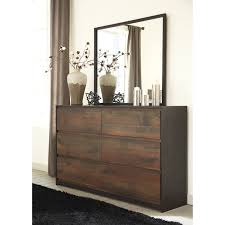 modern rustic dresser bedroom mirror by signature design by dresser bedroom mirror