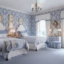 blue and white damask bedding foter