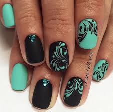 55 green nail art designs opposite colors be beautiful and manicure