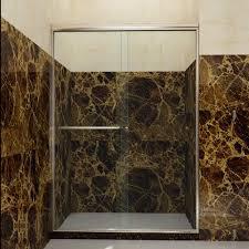 Discount Shower Doors Free Shipping Shower Sliding Bypass Shower Doors 48 Semi Frameless Glass