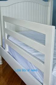 Bed Rail For Bunk Bed Bits Of Home Pottery Barn Knock Bed Rails