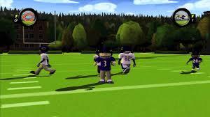 backyard football 10 gunslinger big time qb showtime youtube